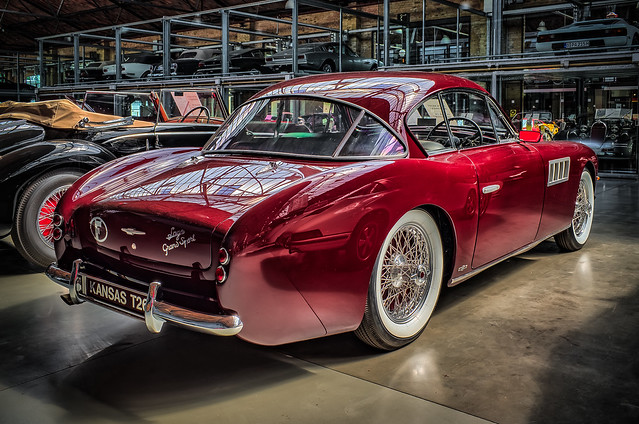 TALBOT-LAGO T26 GRAND SPORT COUPE - rear view