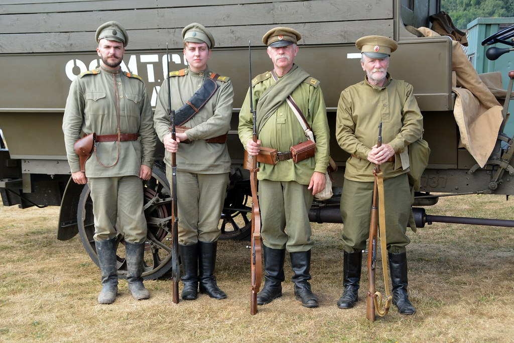 Russian WWI Soldiers | Photos taken by me at the