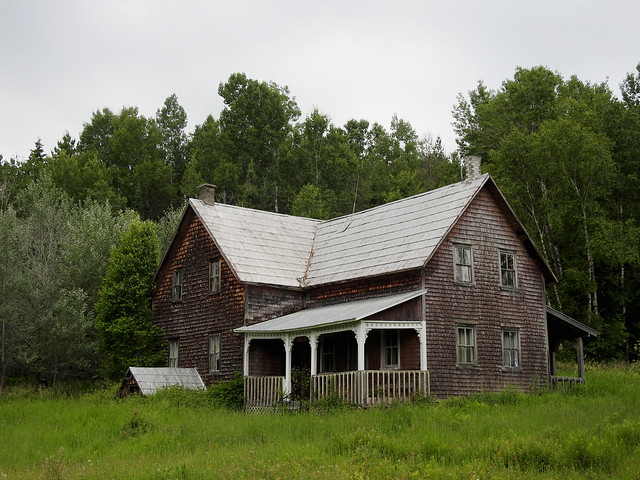 An old homestead between Ladysmith and Danford Lake, Quebec