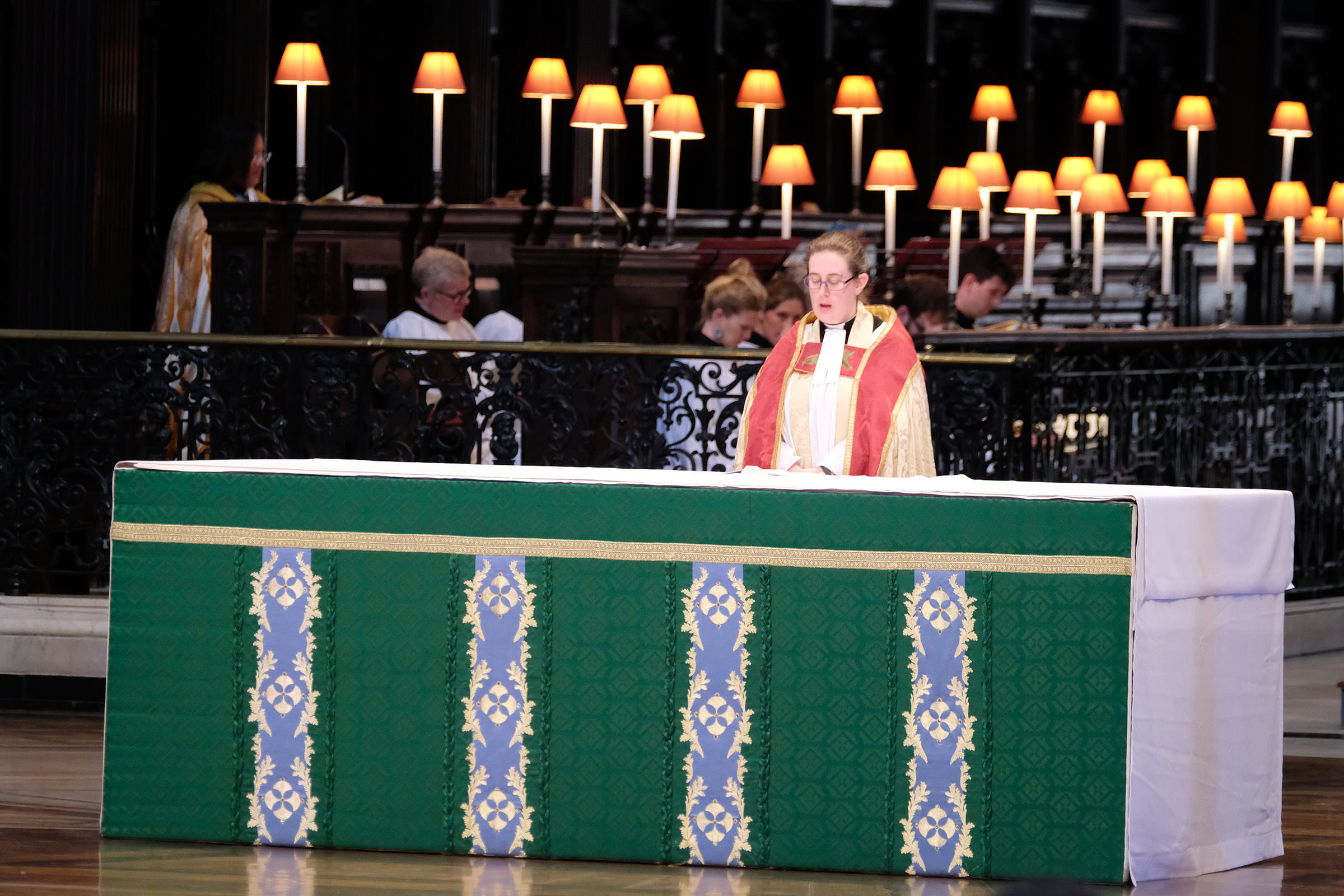 Rev Rosemary Morton, Minor Canon and Succentor
