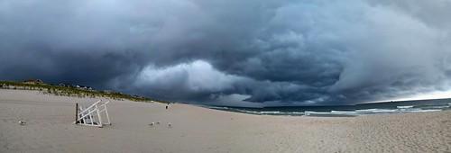 panoramic beach storm clouds nexus6p pano nature ocean