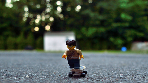 d3200 nikon adventurerjoe lego project365 outside skateboard fun sunset