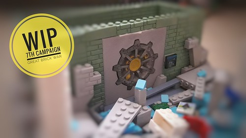 WIP for Eurobrick's Great Brick War 7th Campaign, 3D printed