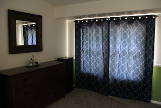Master bedroom update: new drapes | by africankelli