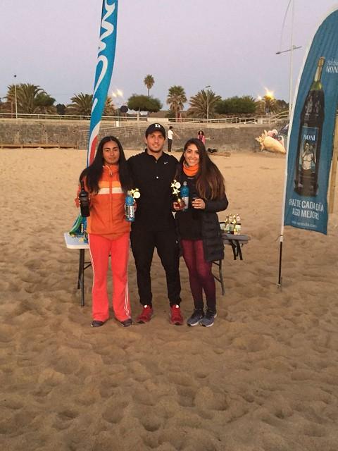 Circuito Tenis : Viña del mar disfrutó con el paso del circuito tenis playa chile