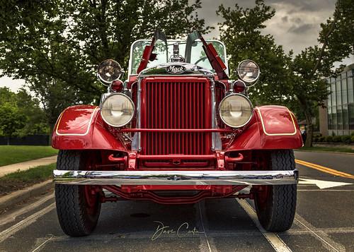 smithtown newyork fire department fd engine truck red ladder classic restoration vintage