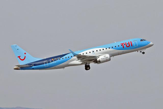 OO-TEA Embraer 190-100STD TUI Airlines Belgium AGP 23-06-18