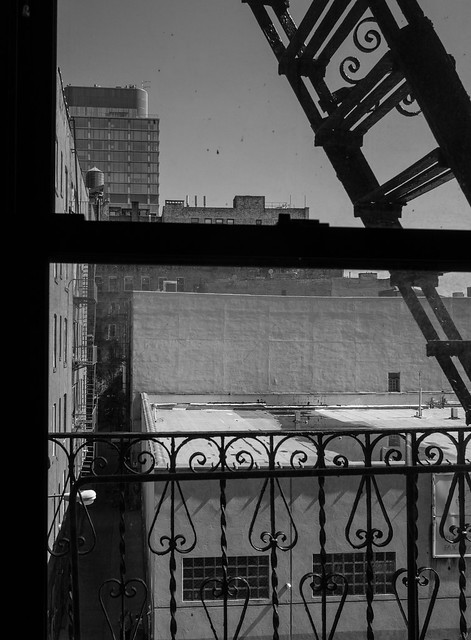 First Day in Manhattan BW-1