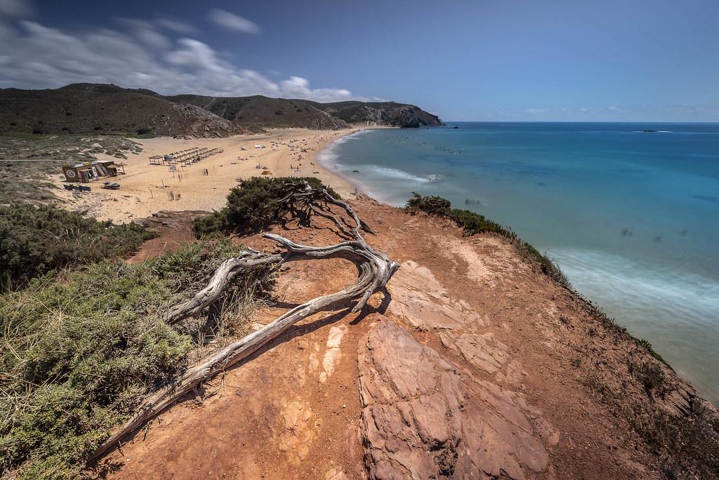 Praia do Amado à Praia da Cordoama - Algarve, Portugal