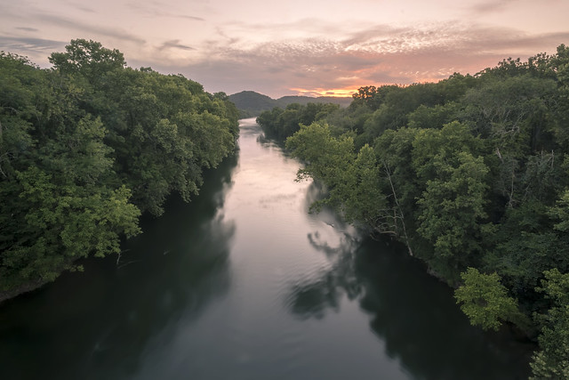 Caney Fork River, Smith County, Tennessee