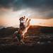 Dancing in the sunset by Kristýna Kvapilová