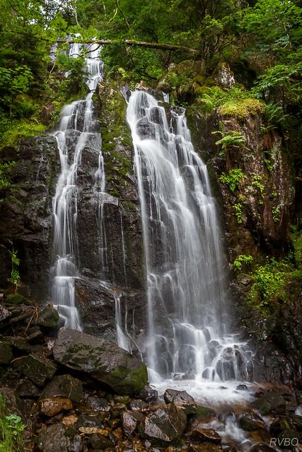 La grande cascade de Tendon