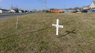 Roadside Memorial for Brett A. Ellis (1 of 3)
