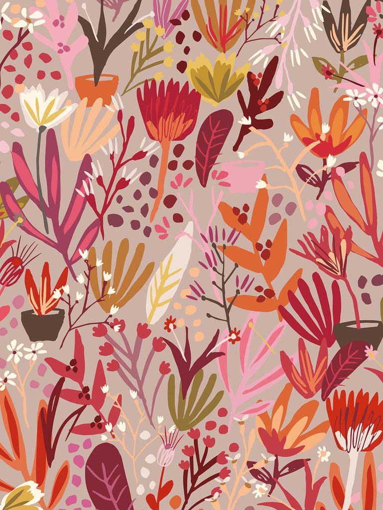 Caroline Gardner Free Ipad Wallpaper Ddt001 Tablet Floral Flickr