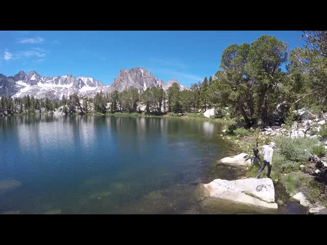 1039 GoPro panorama video from the north end of Summit Lake