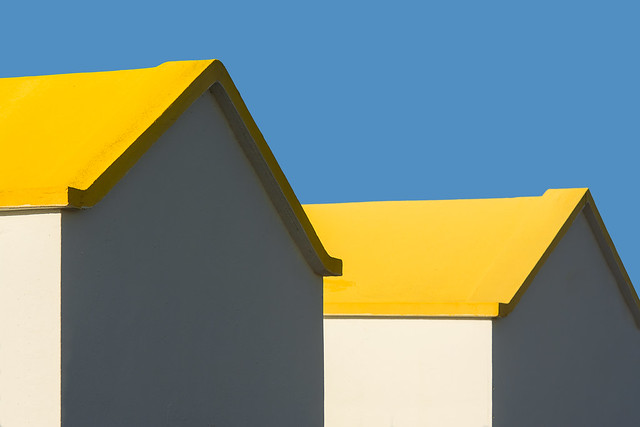 Two yellow roofs