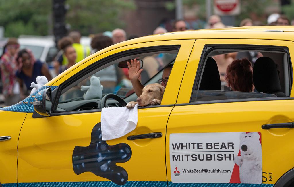 White Bear Mitsubishi >> White Bear Mitsubishi Dog Twin Cities Pride Parade 2018