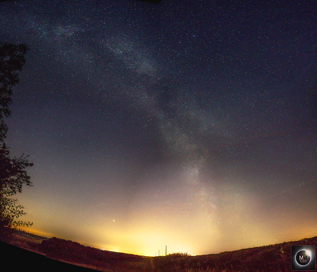 Milky Way Mosaic from North Oxfordshire 08/07/18