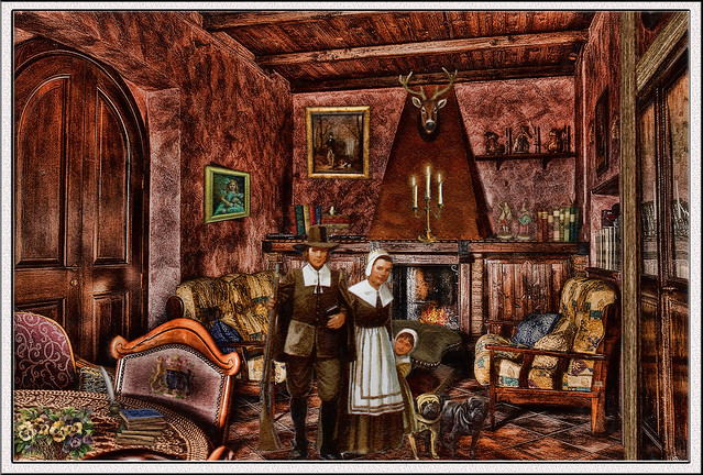 past times - victorian family