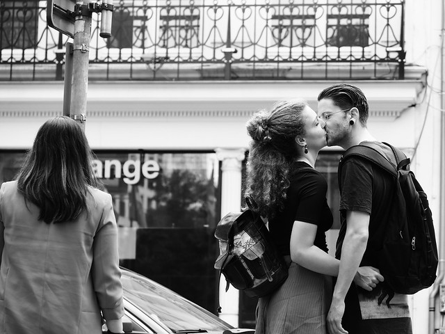 French Kiss BW