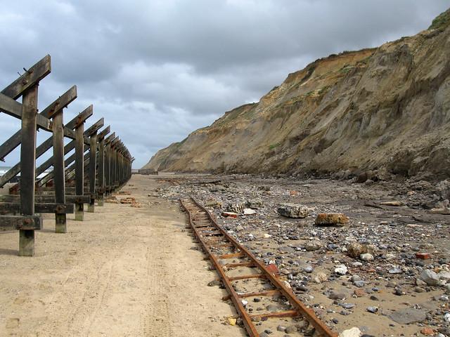 The coast near Mundesley