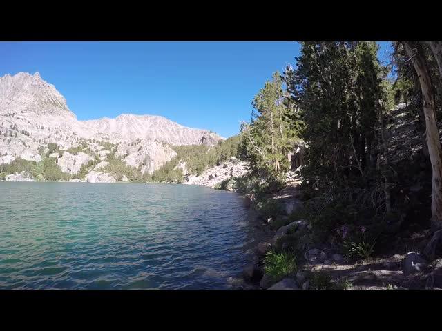 0951 GoPro panorama video at Fifth Lake