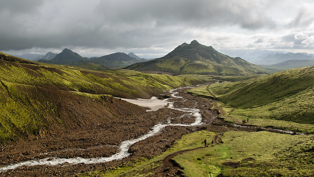 On the Laugavegur Trail, day 1
