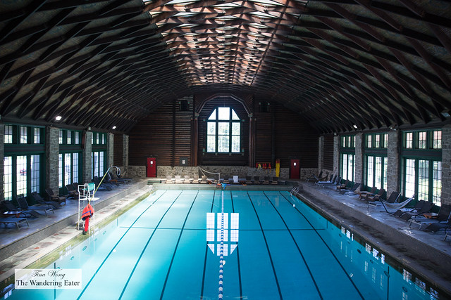 20-meter indoor swimming pool