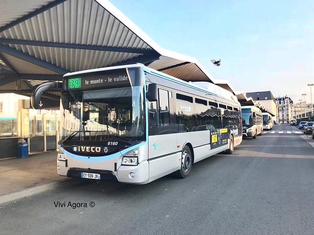 Urbanway 12 Hybride IVECO BUS RATP IDFM