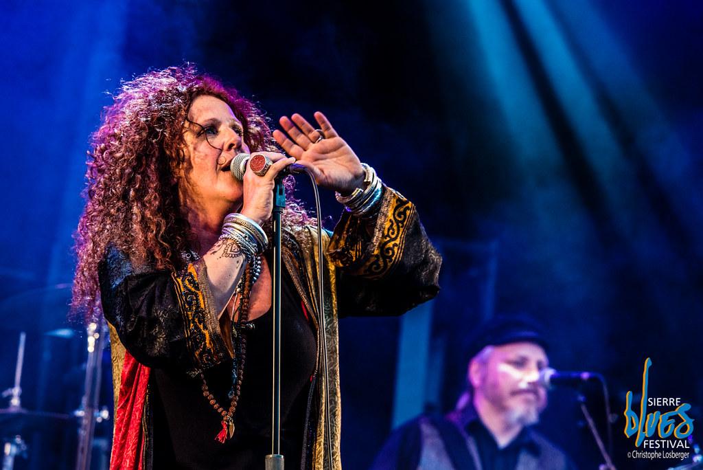 Angel Forrest @ Sierre Blues | Angel Forrest (vocals), Alec … | Flickr