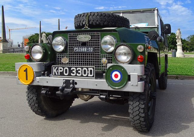 Land Rover all' Historic Day