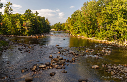 newengland newhampshire carrollcounty riversandstreams sacoriver warmsunlight blueskywhiteclouds september2017 september 2017 canon24704l