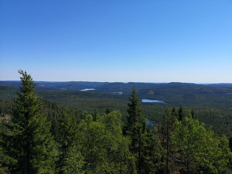 07-Utsikt mot Glitre fra Snaukollen