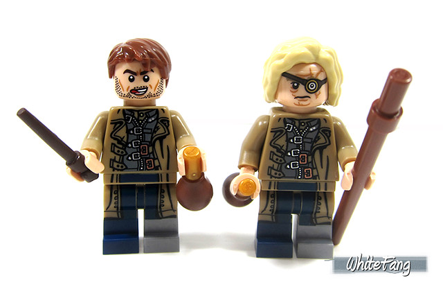 Barty Crouch Jr and Mad-Eye Moody