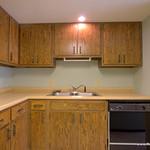 Kitchen sink, dishwasher, garbage disposal