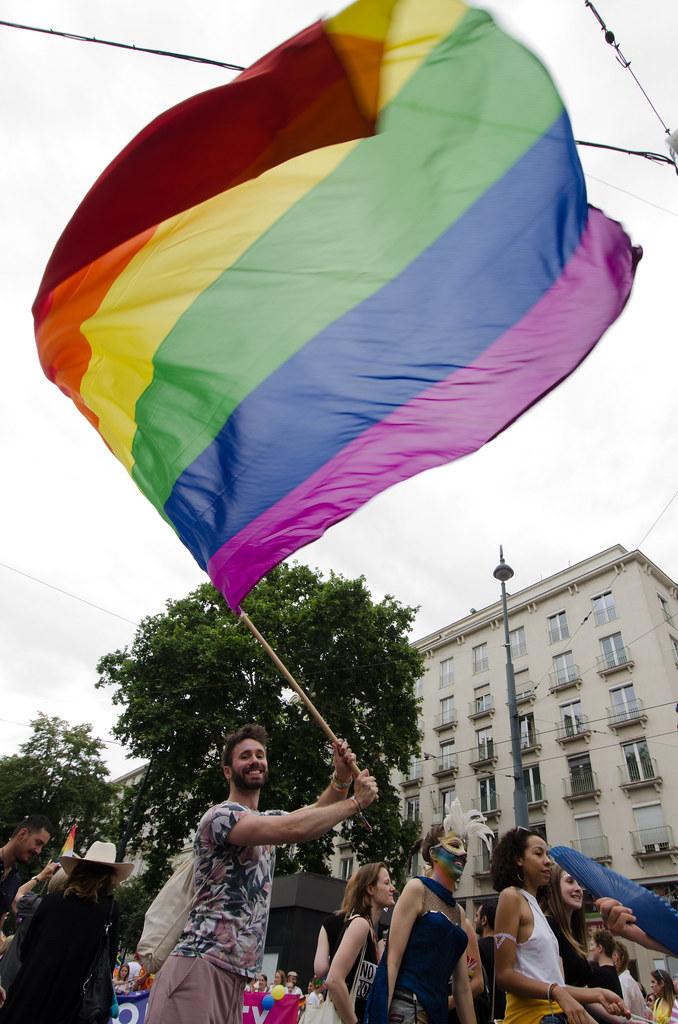 La bandera del arcoiris