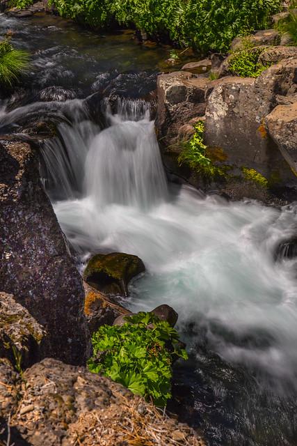 Upper McCloud Falls, California