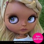 ♥ Custom Blythe Doll for Adoption by Poupoupidoudolls ♥ CHECK HERE ☞ https://etsy.me/2lAU2qx . . . . #dollycustom #blythe #blythedoll #blythedollcustom #blythecustom #blythecustomizer #ooakblythe #customblythe #dollstagram #blythestagram #blythelover #ブライ