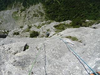 Climbing high above | by scalamalade.ch