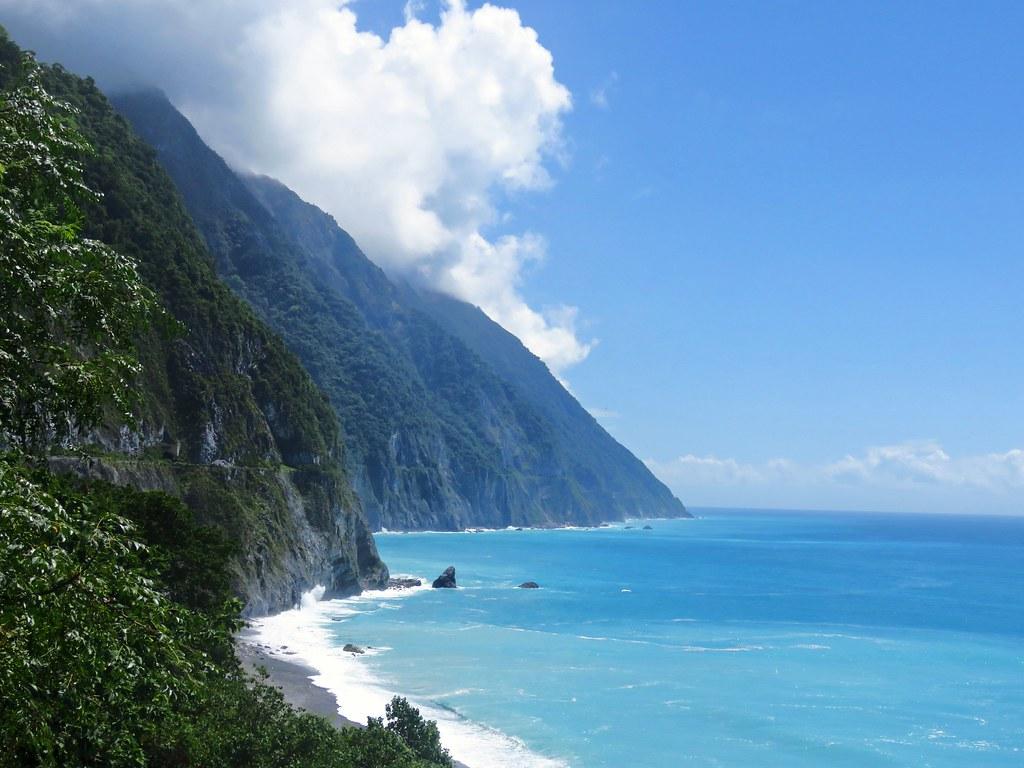 blue ocean 清水斷崖