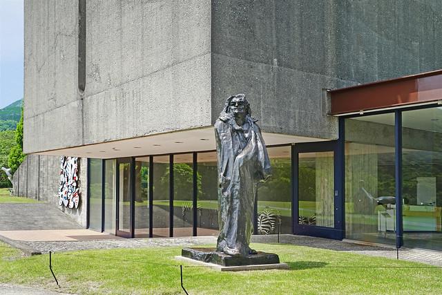 Balzac d'A. Rodin (Hakone open-air museum, Japon)