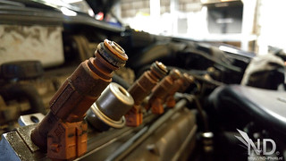 Volvo S80 2.4T Denso Injector Service | by ND-Photo.nl