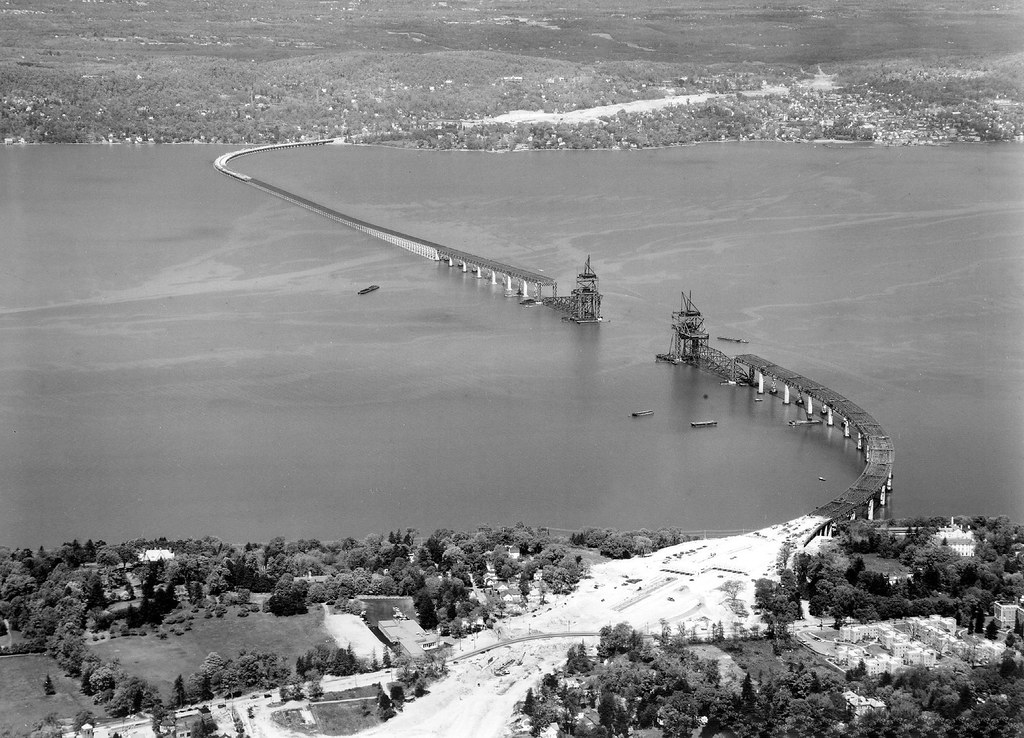 Everyone's talking about the old Tappan Zee bridge being d
