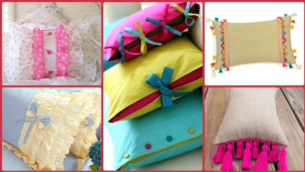 Latest Pillow Cover Designs Ideas//pillow Case Designs/Top ...