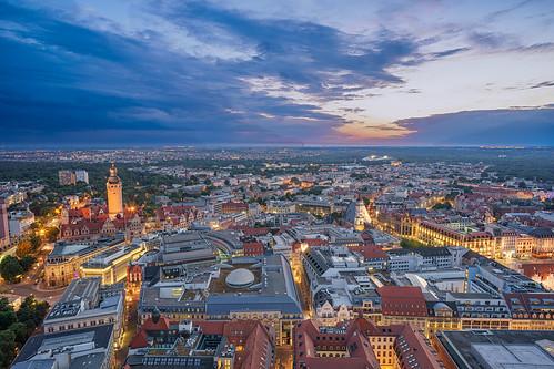 Leipzig - Blue Hour