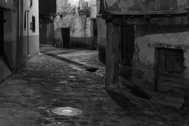 Noche en Valverde de la Vera
