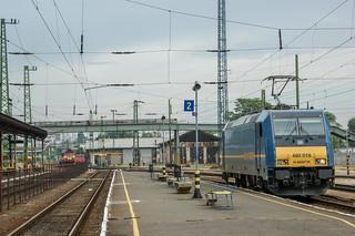 Changing locomotives