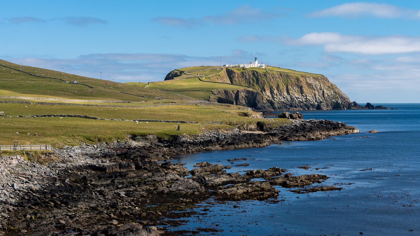 Sumbergh Head, Shetland Islands