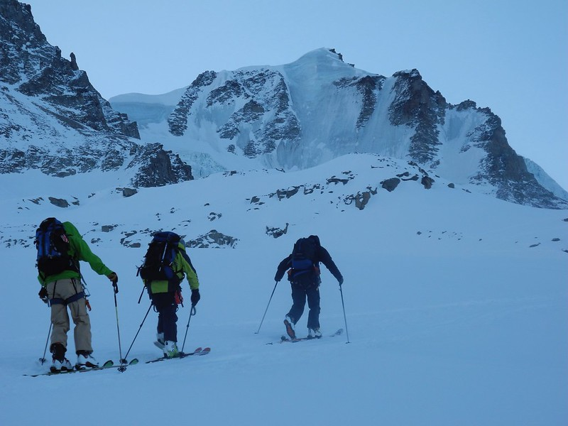 GP north face - which does get skied, but not when it's like this!