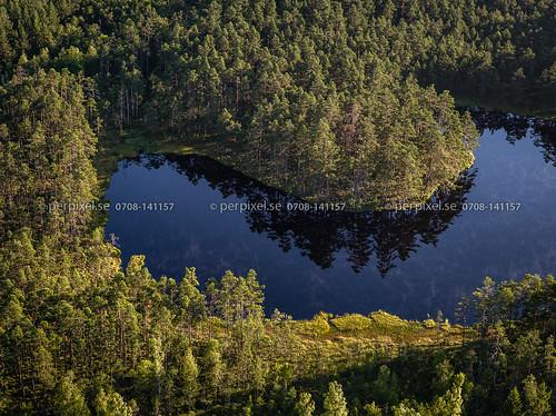 länghem 3 torstensered flygfoto natur sjö västragötaland sverige swe